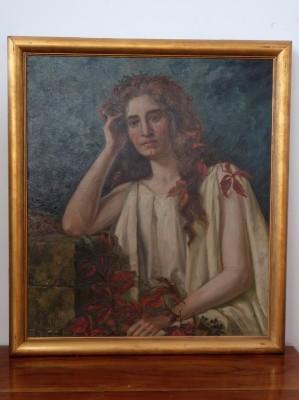 Ölbild Auguste Pfeffer