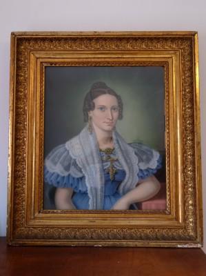 Portrait einer adeligen Dame